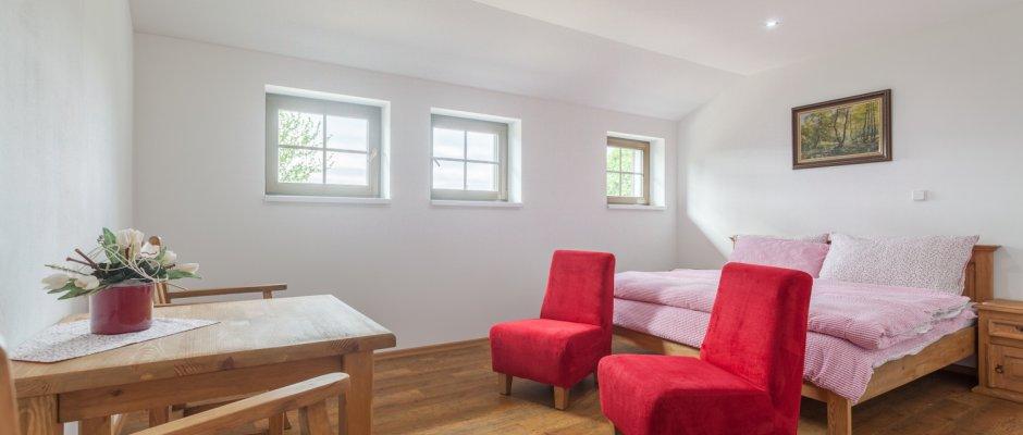 7 nových prostorných pokojů